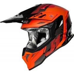 КАСКА Just1 J39 Reactor Motocross Helmet Orange/Black
