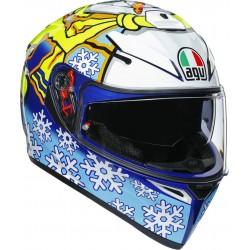 Каска  AGV K-3 SV Rossi Winter Test 2016