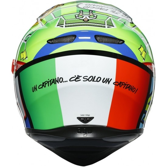 Каска  AGV K-3 SV  Rossi Mugello 2017