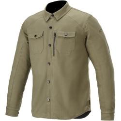 ТЕКСТИЛНO ЯКЕ- РИЗА С ПРОТЕКТОРИ ALPINESTARS Newman Shirt jacket Green