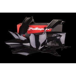 Комплект пластмаси Polisport  за  Honda CRF 250/450  Black 2014-2017 год.