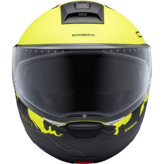 Каска Schuberth C4 Pro Magnitudo Yellow